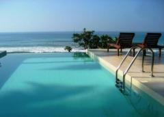 BEACH FRONT LUXURY  VILLA NEAR GALLE IN SRI LANKA